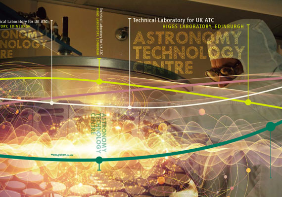 Design & print of the Astronomy Technology Centre, Higgs Laboratory tender.
