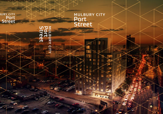 Design & print of the Mulbury City proposal.
