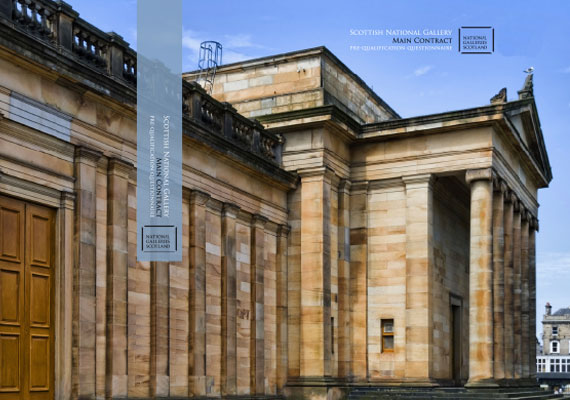 Design & print for the Scottish National Gallery.