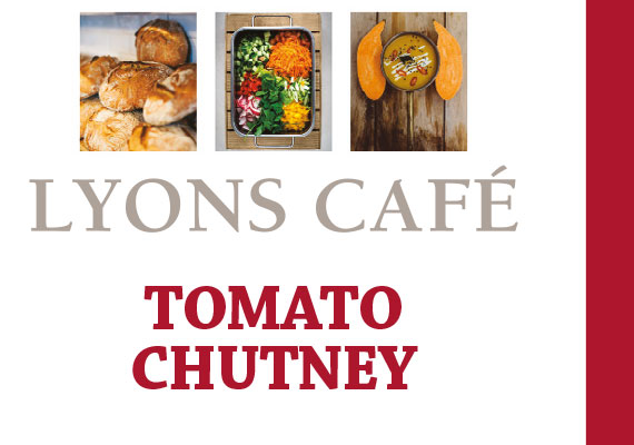 Packaging Design for chef Gary Staffords' Lyons Cafe in Sligo.