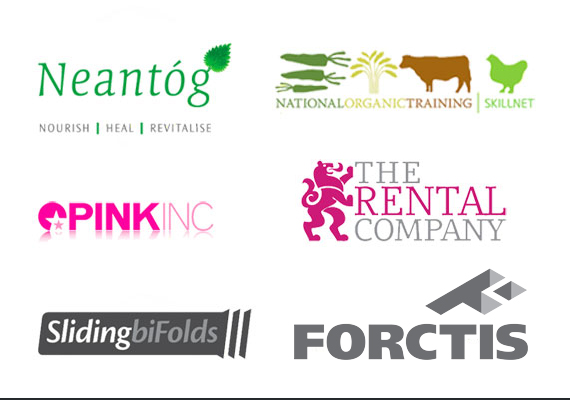 Branding for various clients - which has included full stationary suites, livery, packaging, merchandising etc.